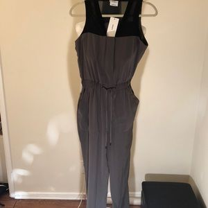 BNWT- DKNY Olive green women's jumpsuit